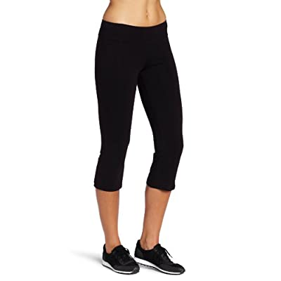 Spalding Women's Capri Flare at  Women's Clothing store: Athletic Pants