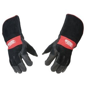 Lincoln Electric Premium Leather MIG Stick Welding Gloves |Heat Resistance & Dexterity| Medium | K2980-M by Lincoln Electric