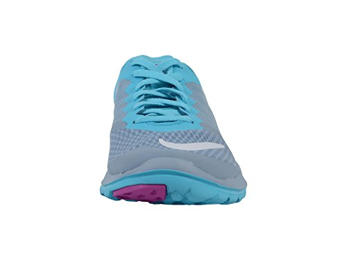 Nike Womens Fs Lite 2 Scarpa Da Corsa Blu Grigio / Gamma Blu / Iper Violetto / Bianco