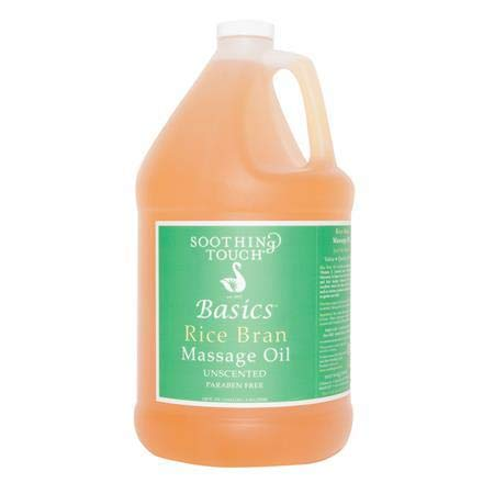Soothing Touch BASICS(TM) Rice Bran Massage Oil