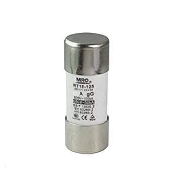 Miro RO17 63A Cylindrical Fuse GGNormal 2258 500V 63Amp