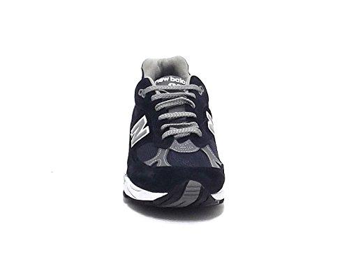 Sneaker New Balance 991 Limited Edition blu e pelle grigia blu