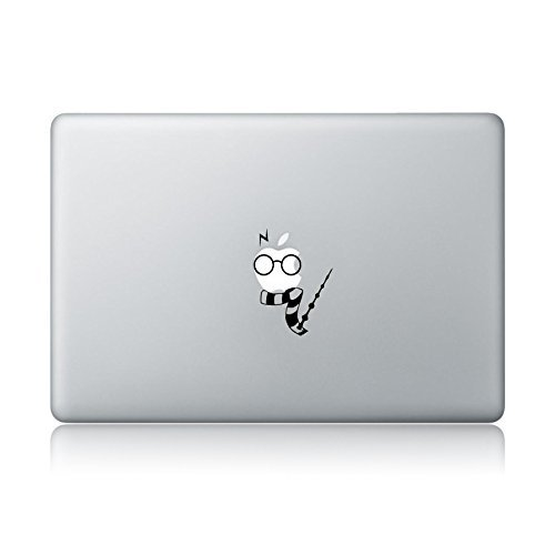 Potter Glasses Macbook Laptop Sticker