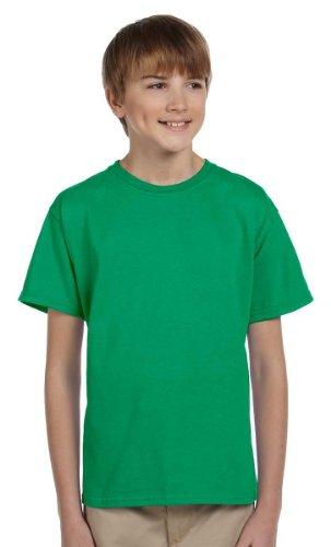 Hanes Boys ComfortBlend EcoSmart Crewneck(5370)-Kelly (Boys Kelly Green)