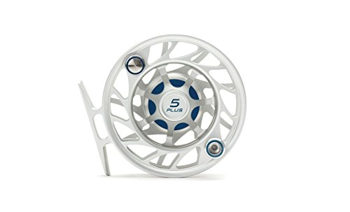 Hatch Gen 2 Finatic 5 Plus Fly Reel, Clear/Blue, Mid Arbor (Hatch Fly Fishing)