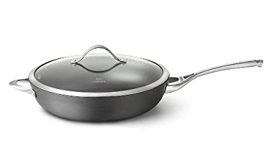 Calphalon Contemporary Nonstick Dishwasher Safe Deep Skillet, 13-Inch
