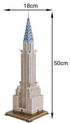 Amazon com: Chrysler Building NewYork Replica Model from New