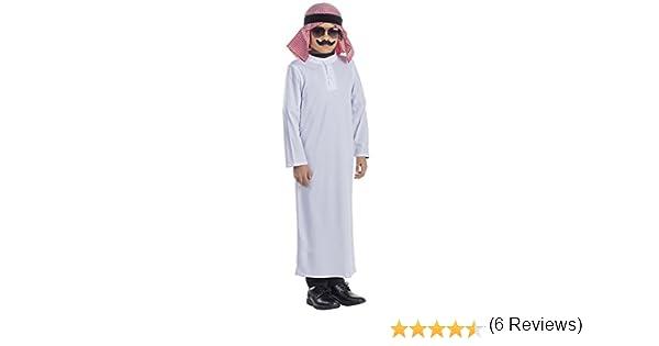 Viste a América - 783-M - Disfraz jeque árabe - 8-10 años - Altura ...
