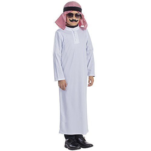 Arabian Sheik Costume - Size Small 4-6 - The Sheik Costume