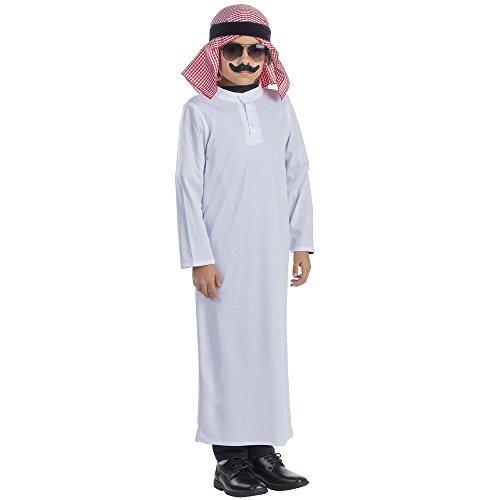 Arab Sheik Outfit (Arabian Sheik Costume - Size Small 4-6)