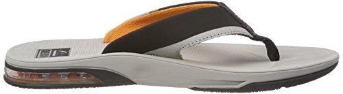 Fanning Thong Grey Sandal Reef Low Men's Orange FUwn8BxqZ