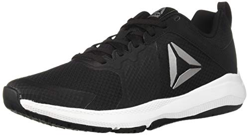 (Reebok Men's Edge Series TR Cross Trainer, Black/White/Pewter, 12 M US)
