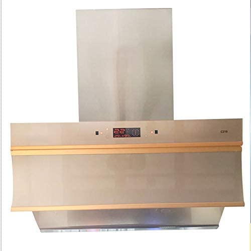 Campana extractora de cocina de pared grande con aspirador somatosensorial para cocina doméstica, campana de cocina: Amazon.es: Hogar