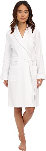 - LAUREN RALPH LAUREN Women's Essentials Quilted Collar and Cuff Robe, White XL (US 16-18)