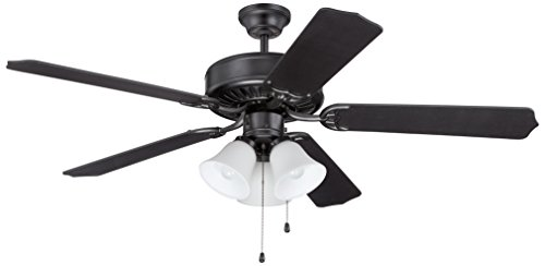 Craftmade C205FB Ceiling Fan with Blades Sold Separately, 52