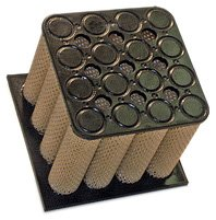 WIX Filters - 42582 Heavy Duty Air Filter Farr Tube Type, Pack of 1