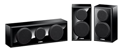 Yamaha NS-P150 Center/Surround, Speaker Package (3) by YAMAHA