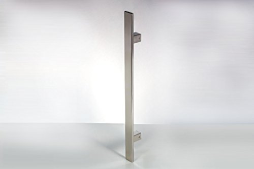 Rectangular Over Mirror Light In Matt Nickel Or Polished Chrome: Modern Contemporary 18 Inches Square Rectangle Flat