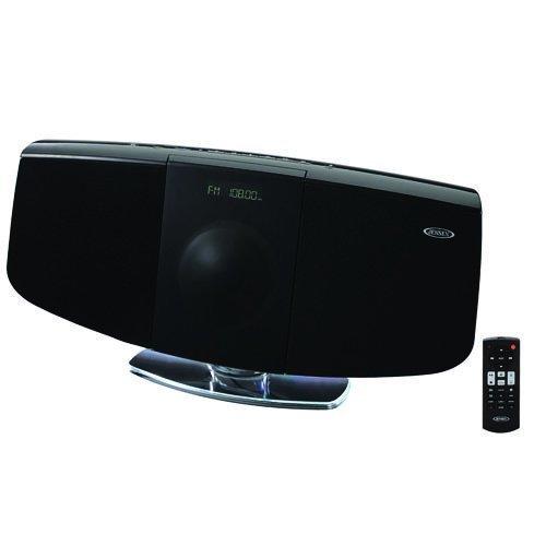 Jensen Dual Bass Boxes - Jensen Wall Mountable Bluetooth/Cd Music System