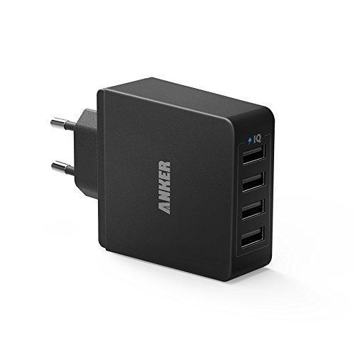 Anker 36W 5V / 7.2A 4-Port USB Ladeger?t Wand Ladeadapter
