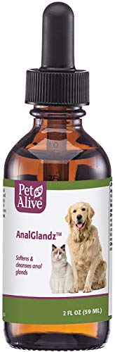 PetAlive AnalGlandz for Anal Gland Health in Dogs and Cats, 59mL
