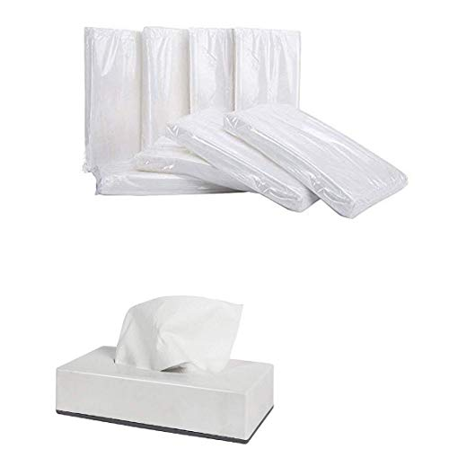 DHWANI ENTERPRISE Facial Tissue box Refill   Tissue Refill   (Pack of 10) With Check Duster Cloth Free Price & Reviews