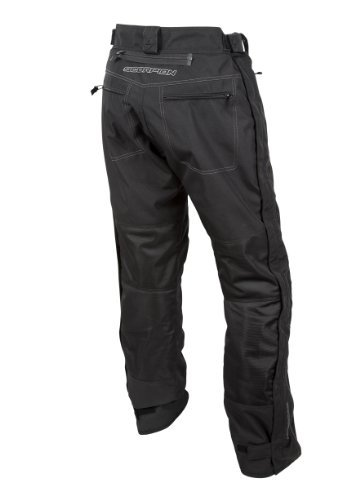 Scorpion EXO Men's Trey Black Overpants, 2XL