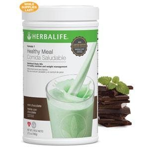 (Herbalife Formula1 Healthy Meal Nutritional Shake Mix - Mint Chocolate Chip, 780g/27.5Oz)