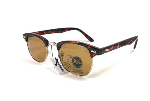 Men's Soho Tortoise and Gold Tone Frames with Gold - Soho Eyewear Frames