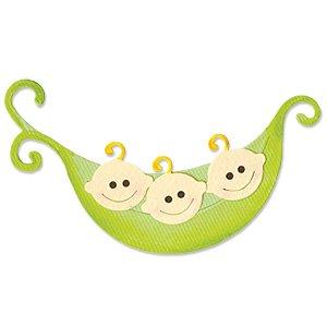 Ellison Sizzix Originals Die-Large Pea & Pea Pod