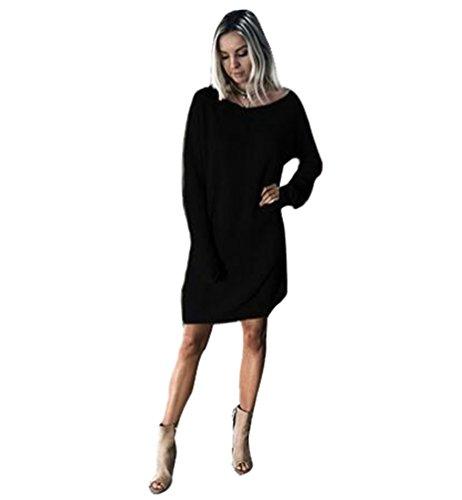 Kurze kleider schwarz langarm