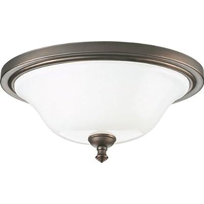 Progress Lighting P3326-74 2-Light Close-To-Ceiling Fixture, Venetian Bronze