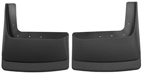 Husky Liners Dually Rear Mud Guards Fits 99-10 F350/450 DUAL REAR WHEELS 2007 Ford F-350 Husky