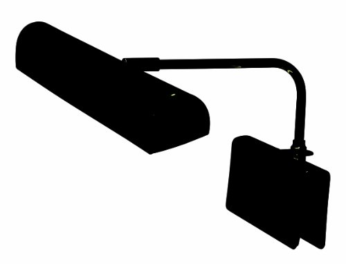 Adjustable Piano Lamp Grand (House Of Troy GPTLED-7 Grand Piano 14-Inch Portable LED Lamp, Black)