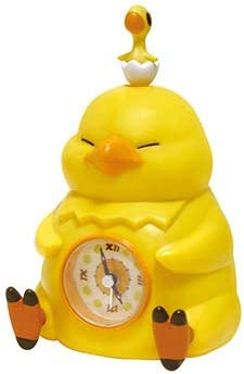 Taito Final Fantasy XIV Fat Chocobo Alarm Clock Yellow , 6.3