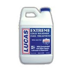 Lucas Oil (LUC10021) Fuel Treatments, Extreme Cold Weather Fuel Treatment, Case of 6, 1/2 Gallon Size Bottles