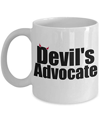 Devil Advocate Funny Debate Coffee Mug Present Best Political Tea Cup Gift