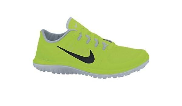 NIKE FS Lite Run Zapatilla de Running Caballero, Amarillo Fluorescente, 43: Amazon.es: Zapatos y complementos