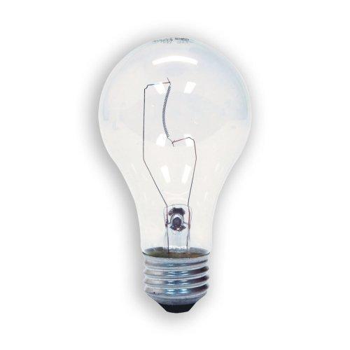 GE Lighting 72529 60-Watt A19 Garage Lighting Door Opener, 2-Pack by GE Lighting