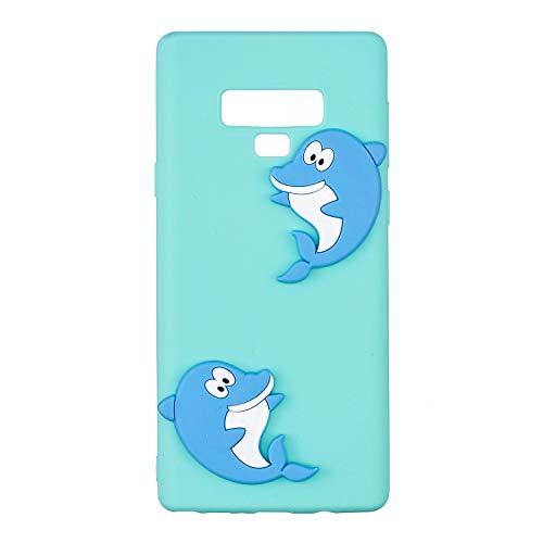 matériel Coque Mince dolphin 9 pour Ultra Rigide Fait Slip Note TPU et Portable de léger dans Housse inShang étui Samsung Galaxy Le téléphone Coque Anti étui Mate9 7xqRwqAC