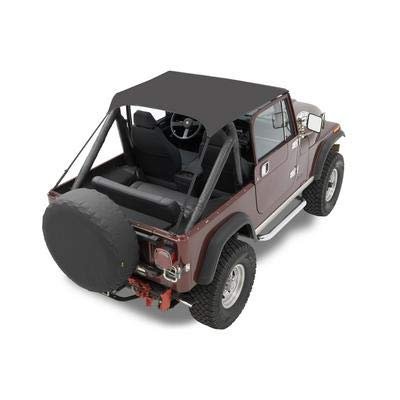Cj5 Jeep 1955 (Bestop 52505-01 Black Crush Traditional Bikini Top for 1951-1962 M38A1 & 1955-1975 CJ-5)