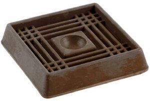 Shepherd Hardware Caster Cups, 2-Inch,Pack of 8 (Carpet Base Cup)