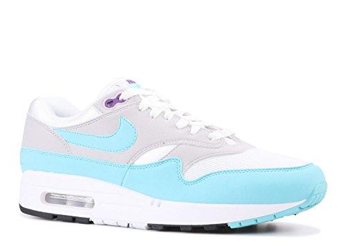 Nike Sneaker uomo White/Aqua-Neutral Grey Black