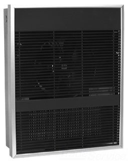 - Qmark AWH4508 Architectural Wall Heater Fan Forced Metal Sheath - AWH4000 Navajo White