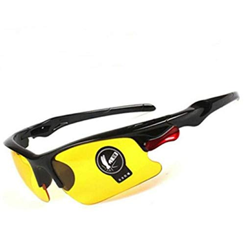 YUANYUAN521 Laser Safety Glasses Welding Laser IPL Beauty Instrument Protection Eyewear Anti Glare Night-Vision Eye Protective Glasses (Color : Yellow) by YUANYUAN521