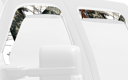 (Mossy Oak Graphics 10008-WV-WR Winter Camouflage Window Visor Accent Kit)