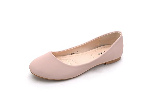 Shoes Pink Perforated 4 lady t DINA Chic mila Flats Ballerlina qzRx8p