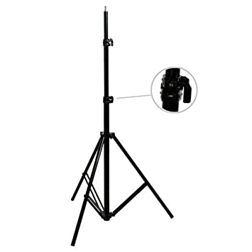 CowboyStudio Set of Two 7 feet Photography Light Stands with Cases Cowboy Studio 2X C-803