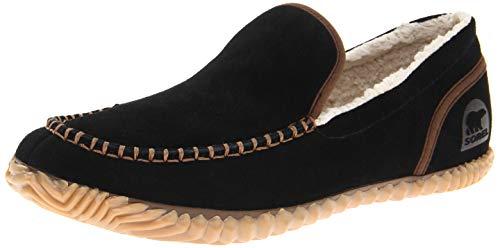 -Solid Slipper, Black, 13 M US ()