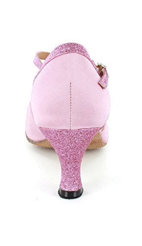 Tanzschuhe Party Comfort Damen Minitoo Hochzeit Sandalen Abend Single Pink Strap 7q8wxtIg